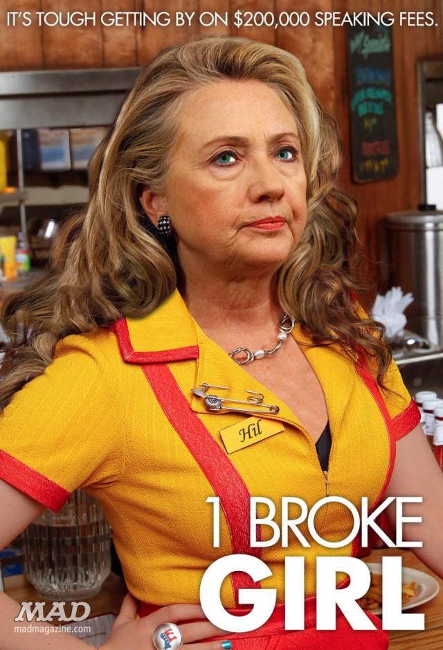 MAD-Magazine-1-Broke-Girl Hillary Clinton spoof