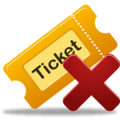 ticket canceled